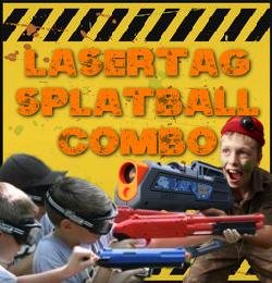 SplatBall and LaserTag Combo Offer