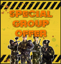 Group Paintball Offer